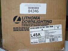 lithonia lighting afj 6ar ld trt trim u open reflector cj00259 ebay