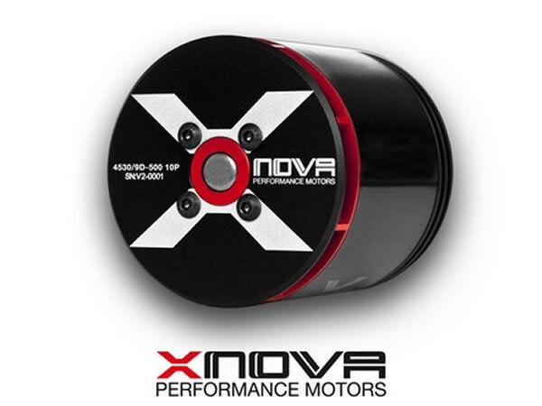 Xnova 4530-500KV 8D 10P Brushless Motor 6mm-38mm Shaft A