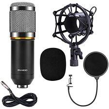 Studio Recording Equipment Condenser Microphone Mic Broadcasting Shock Mount New