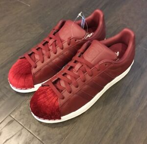 Image is loading adidas-Superstar-Shelltoes-College-Burgundy-Women-039-s- 1748895393