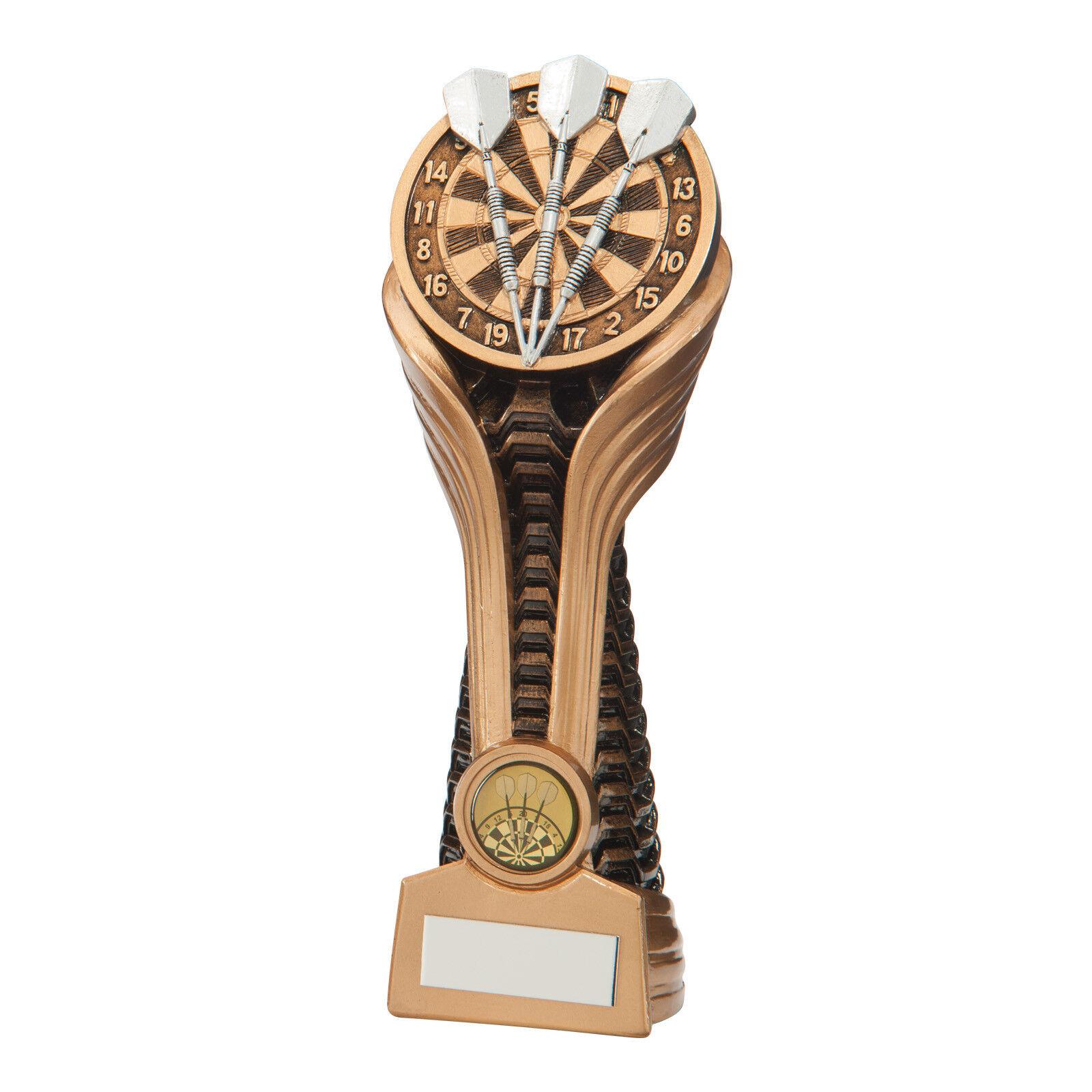 Resin Gauntlet Dartboard Dartboard Dartboard Fléchettes Trophies Awards 3 Sizes Free engraving f0c5fb