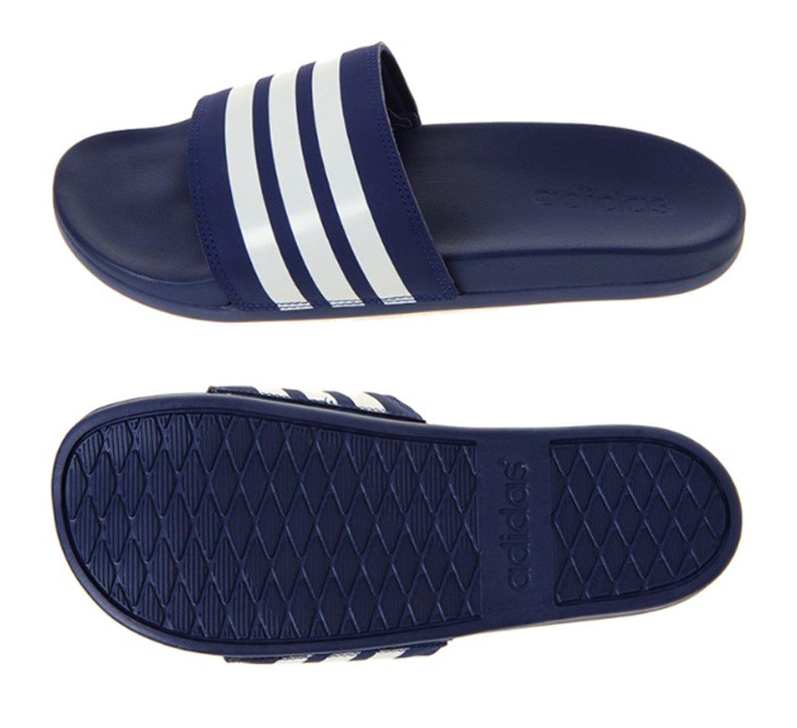 "Adidas Ανδρικά Adilette CF 3-Stripes ΞΞ±Ξ½Ο""ΟŒΟ†Ξ»Ξ΅Ο' Ναυτικά Παπούτσια Παραλία Slide B42114"