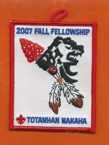 SCOUT BSA OA LODGE 16 TOTANHAN NAKAHA 2007 FALL FELLOWSHIP NORTHERN STAR CNCL MN