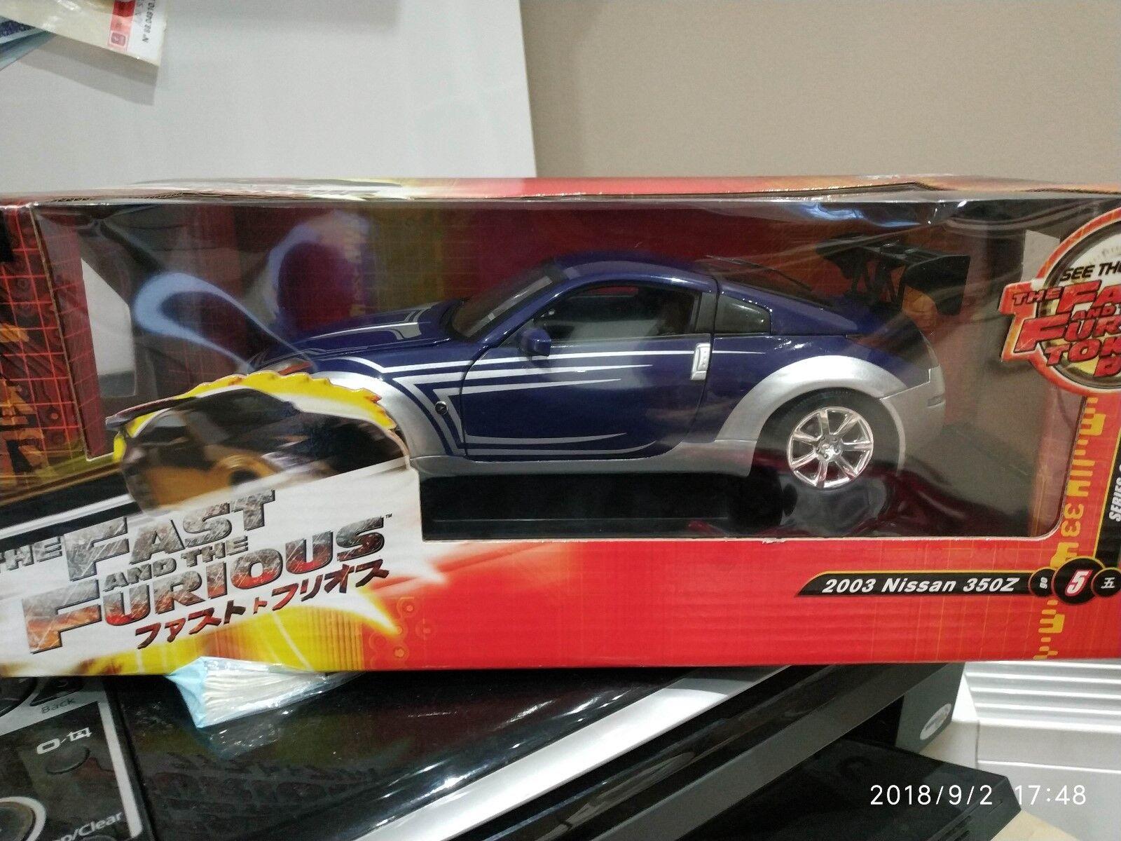 Nissan 350 Z 2003 Fast and Furious Tokyo DRIFT ERTL   Joyride en boite 1 18