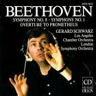 Sinfonien 1+8/Ouv.Prometheus von Lso,Gerard Schwarz,La Chamber (2011)