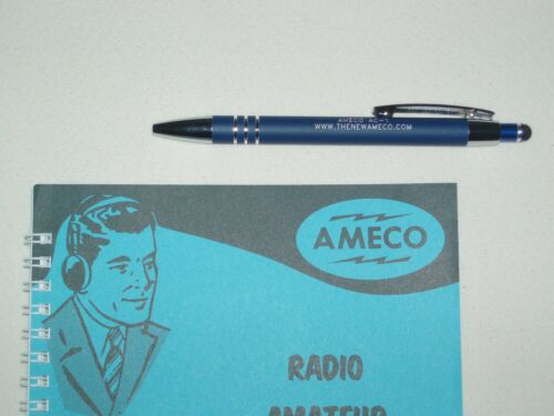 AMECO AC-1T  transmitter  Radio Amateur LOG BOOK REPLICA with FREE GIFT