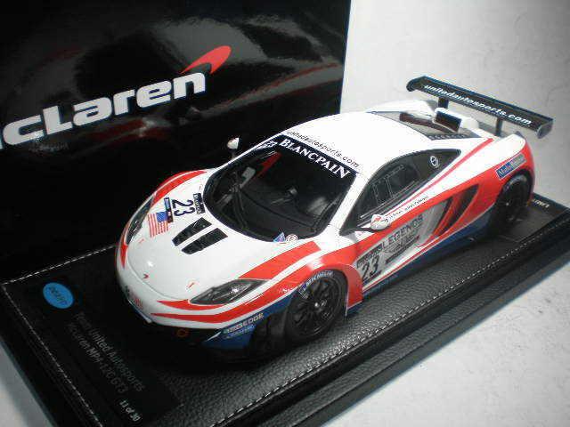 1 18 Peako McLaren MP4-12C GT3 Blancpain Monza 2012 United Autosports  23