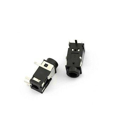 10pcs 3.5mm Headphone Audio Sound Jack Socket Port Connector DC 30V 0.5A PJ322