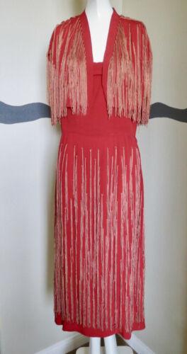 Vintage 1940s Dress and Bolero Designer Herbert So