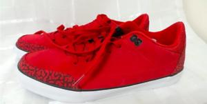 Nike jordan corte ac.1 uomini scarpe / 10 (579607-601 palestra rosso / scarpe nero / bianco) 169034