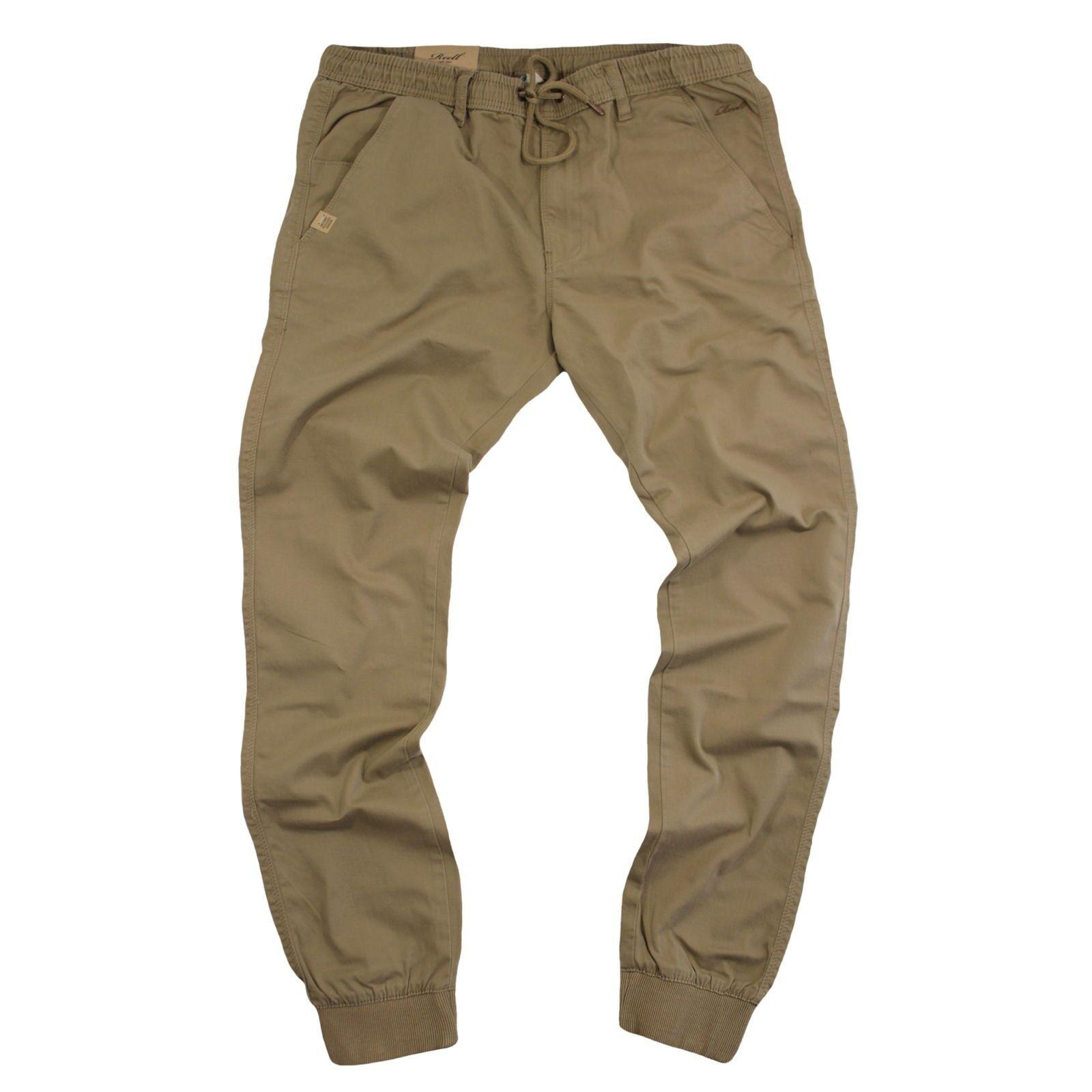 Real  jeans señores reflex rib Pant pantalones dark arena Long  oferta especial