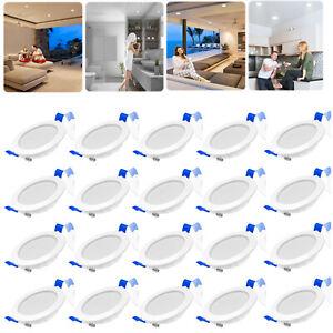 20X LED Spot Einbaustrahler Set 5W Einbauleuchte Deckenleuchte Einbau Strahler