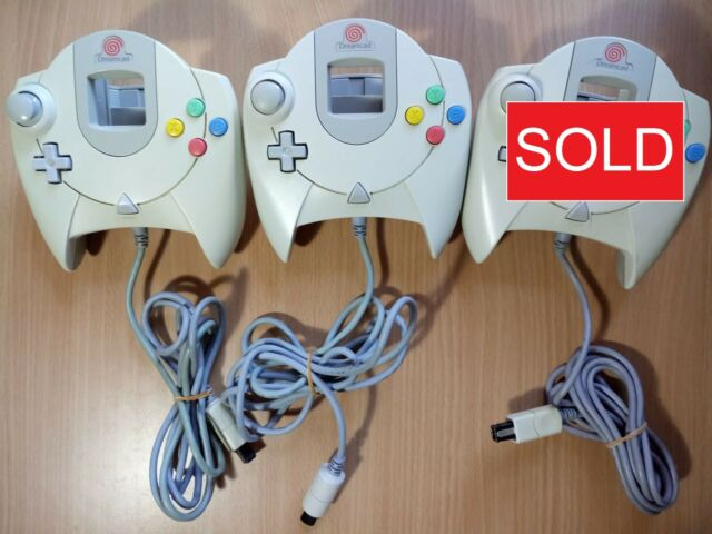 DC Sega Dreamcast Official/Genuine Controller Game Pad Accessory [HKT-7700]