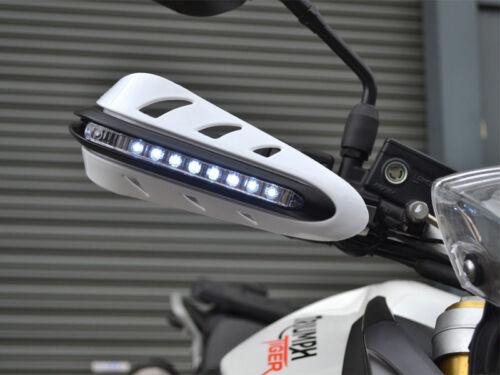 PROTEGES MAINS A LED CLIGNOTANT MOTO ENDURO QUAD TRIKE CAN-AM SUPERMOTARD NEUF