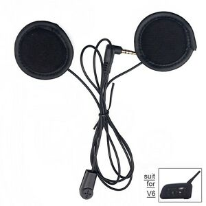 Microphone with super-slim speaker headset for Motorcycle Helmet Intercom V6 V4
