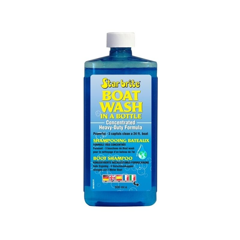 SHAMPOO CONCENTRATED STAR BRITE BOATS BOAT WASH 16.9 oz
