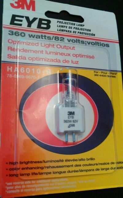 3M EYB 82V 360W Halogen Projector Lamp Projection Light Bulb 78-6969-9245-8