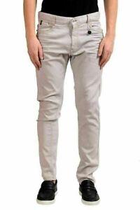 promo code 01de3 e05be Details about C'N'C Costume National Men's Gray Slim Jeans US 34 IT 50