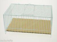 Mini Small Metal Cage Ultra Portable Animal Critter Bird Quail Chick Hamster Rat