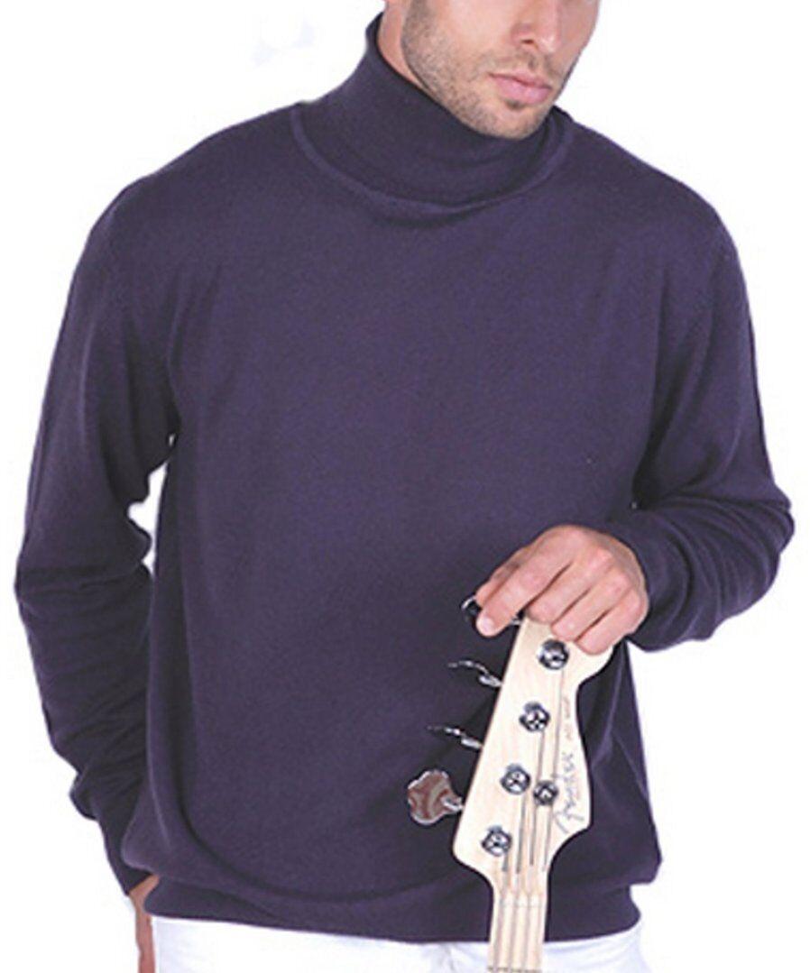 Balldiri 100% Cashmere Kaschmir Herren Rollkragen Pullover Pullover Pullover 2-fädig brombeere XXL     | Ab dem neuesten Modell  | Umweltfreundlich  | Billig  | Qualität und Verbraucher an erster Stelle  | Erste Qualität  d4f135