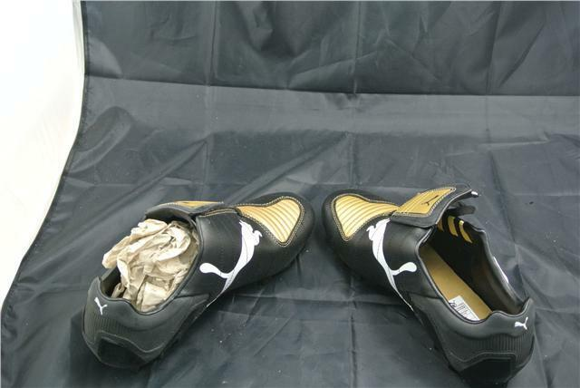 PUMA V-KON UK9.5 ||| GCR HG TRAINER UK9.5 V-KON BLACK/GOLD/WEISS FOOTBALL Stiefel RARE 0e6c1b