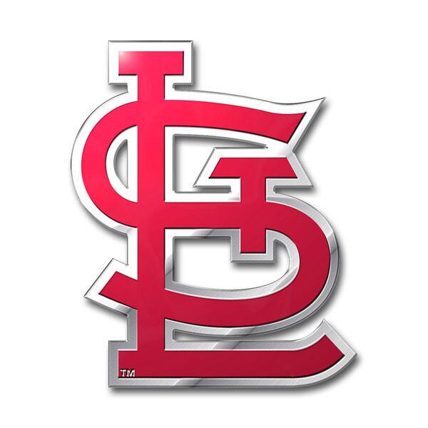 St. Louis Cardinals Die-Cut Metal Auto Emblem [NEW] MLB Car Decal Sticker CDG
