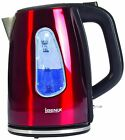 Igenix IG730R 1.7 Litre 3kw Cordless Jug Kettle Metallic Red