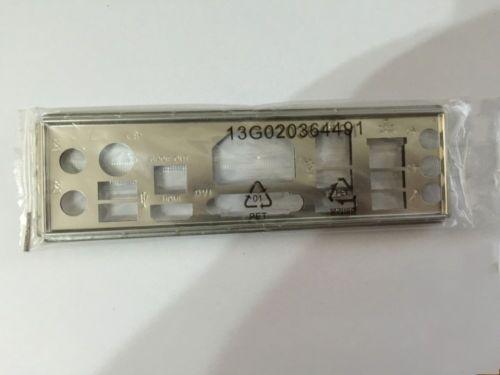 Original io Shield for ASUS E35M1-I DELUXE /& E45M1-I DELUXE motherboard #G984 XH