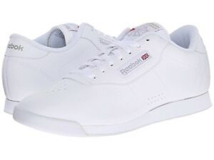 Reebok Princess White 1475 Women s Classic Leather Shoes Sneakers  221ee868e