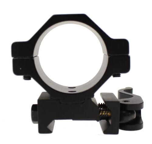 """25,4mm//1/""""Bauhöhe 10mmNEU Weaver Schnellwechselmontage SetØ30mm"""