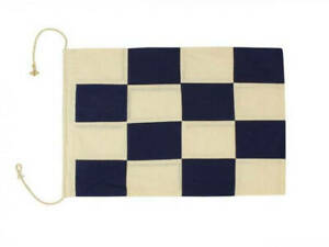 Image is loading Letter-N-Cloth-Nautical-Alphabet-Flag-Decoration-20-