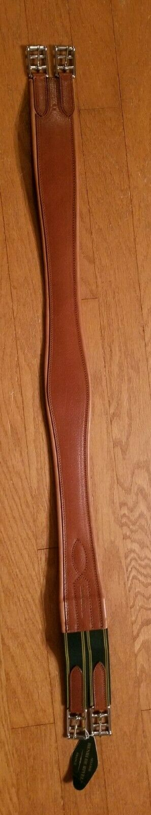 HDR Overlay Leather Girth, Hazelnut, 48 , New