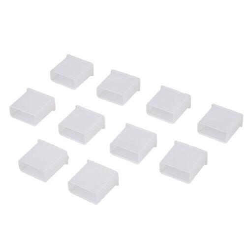 10Pcs Plastic USB male anti-dust plug stopper cap cover protector Jx P0HWC