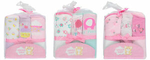Snugly Baby Girls Hooded Towels 3-pack BRAND NEW!!!!!