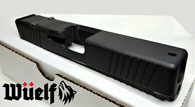 Glock 19 Slide with RMR Front and Rear Serrations Inc Cover