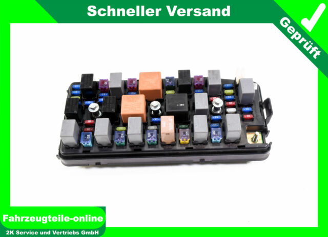 Chevrolet Captiva C100 C140 Fuse Box