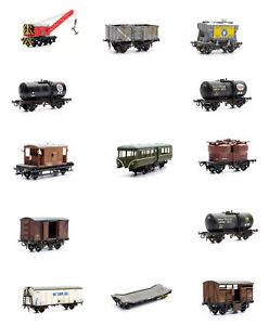 OO-gauge-Wagon-kits-Dapol-Kitmaster-13-different-models-DAC0xxc-free-port