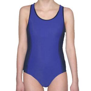 NEU Sport Badeanzug Schwimmrücken schwarz  Größen 128 140 152 164