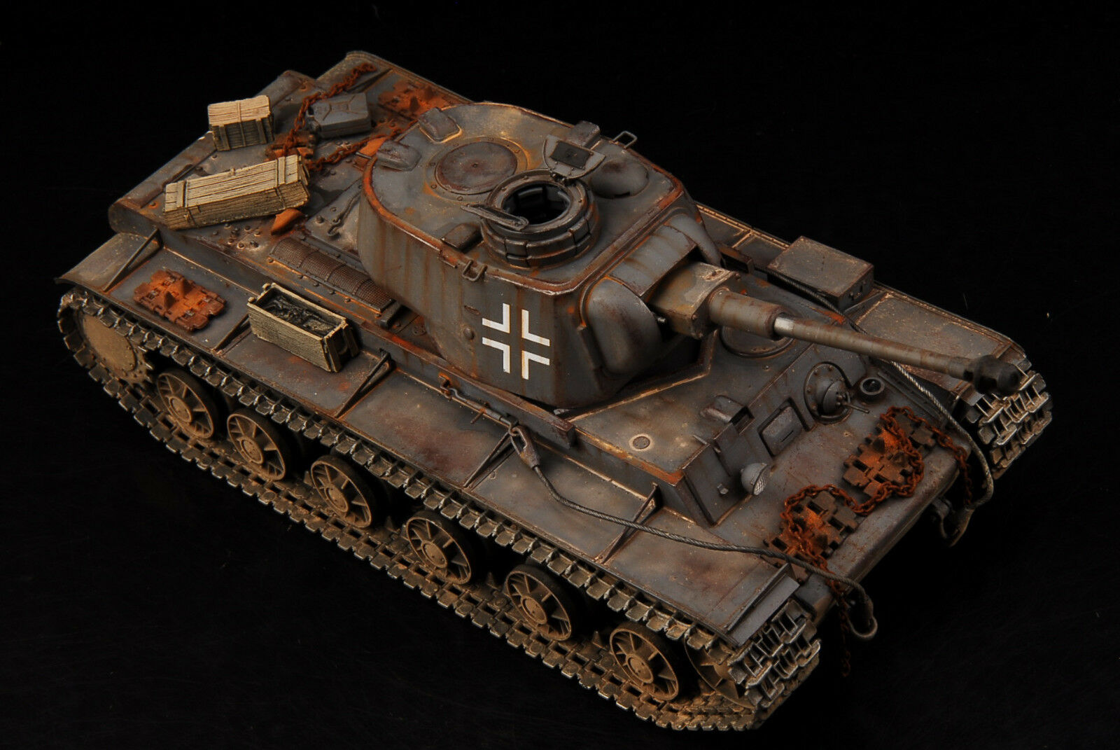 Award Winner Built Built Built 1 35 German Captured KV-1 1942 PZ.KPFW.756 (r) +Metal ACC ee27bf