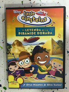 Little Einsteins - DVD La Legenda Della Piramide Oro Spagnolo Inglese Francese