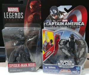 3.75 inch SPIDER-MAN NOIR & ROCKET STORM FALCON Set