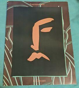 """Fleetwood Mac In Concert Program- """"The Tour 1987""""."""
