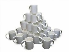 Nj 36pcs Blank White Mugs 11oz Sublimation Coated Mugs For Heat Press