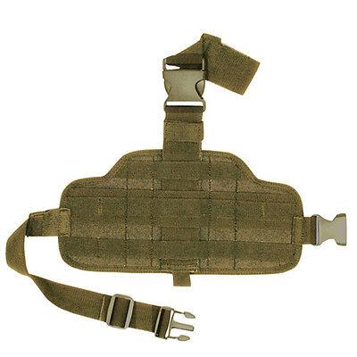 FOX MOLLE Modular Combat Drop Leg Panel 58-238 - COYOTE TAN