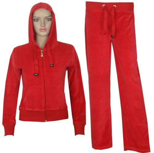 Kids Girls Boys Hooded Velour Tracksuit Hoodie Bottom Trouser 8 9 10 11 12 Year
