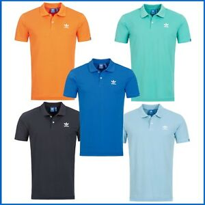 Adidas-Poloshirt-Herren-T-Shirt-Polo-Hemd-Trefoil-Tee-Shirts-S-X-L-NEU