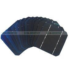 20pcs 5x5 Mono Solar Cells High Power for DIY 50W 12V Solar Panel 2.6W/pc Gift