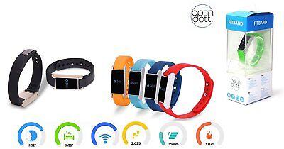Op3n Dott-fitband-fitness Braccialetto/schlaftracker-colore: Graphite-