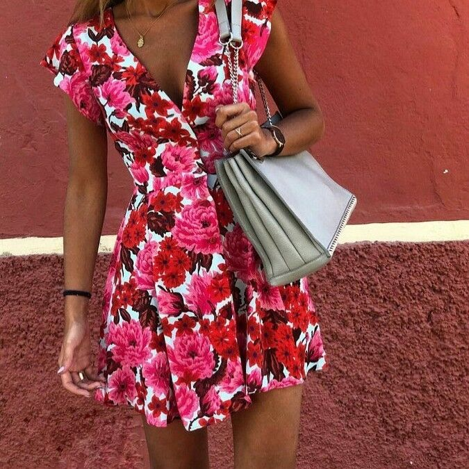 Zara Floral Print Dress Größe X SMALL BNWT
