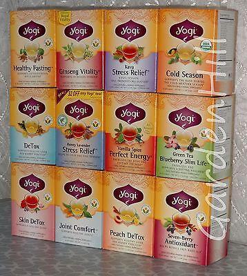 Yogi Tea, DeTox, Wellness Support, Stress Relief - 16 Tea Bags
